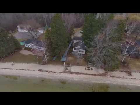 Hubbard Lake, MI (home of the crayfish trap video)