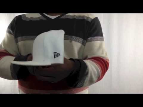 New Era '59FIFTY-BLANK' Solid White Fitted Hat