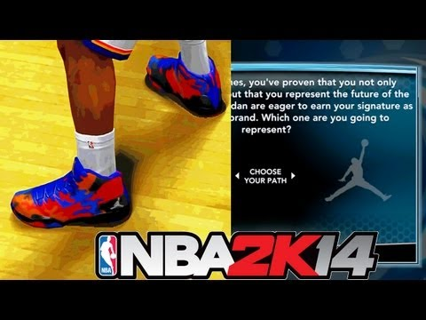 NBA 2K14 MyCAREER: Shoe Endorsement! Struggling As A Team