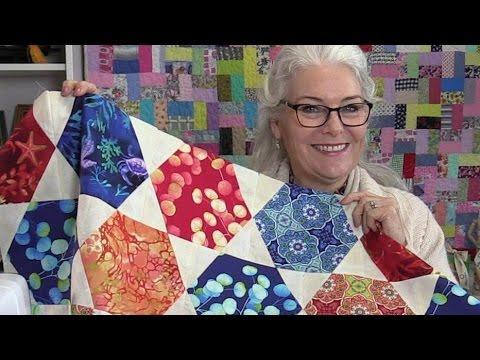 Free Unique Hexagon Star Quilt Pattern