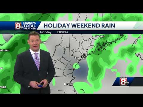Get ready for Friday heat and holiday showers