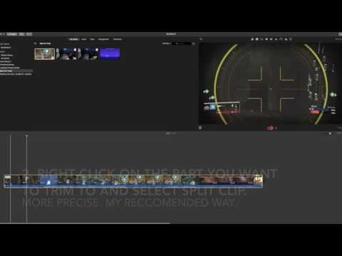 iMovie Editing Tutorial Part 2: How to properly trim and edit clips!