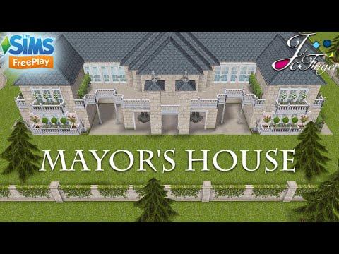 The Sims FreePlay 🏛| MAYOR'S HOUSE |🏛 By Joy.
