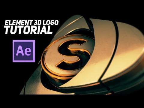 Tutorial | After Effects & Element 3D Epic Logo Animation |