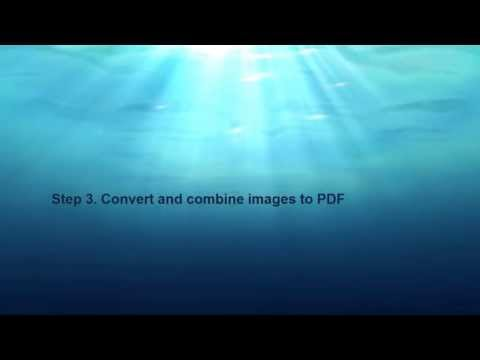 how to combine multiple images to one pdf (part 2)