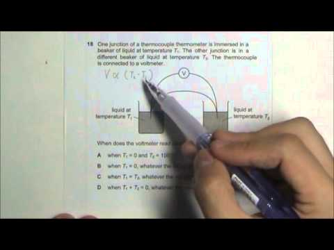 2010 O' Level Physics 5058 Paper 1 Solution Qn 16 to 20