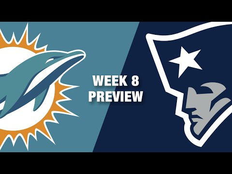 Dolphins vs. Patriots Preview (Week 8) | Thursday Night Football