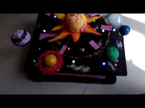 3D Solar System School Project