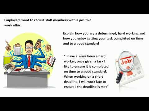 Interview Questions and Answers Describe Your Work Ethic