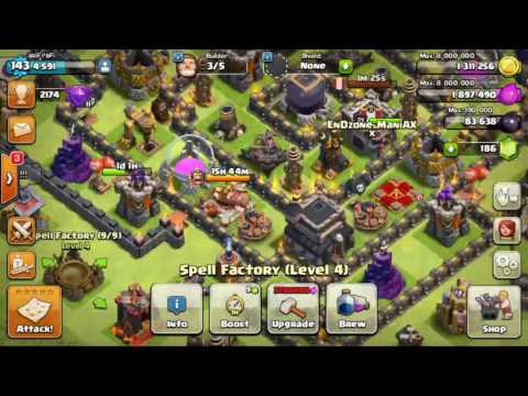 Clash Of Clans Engineered Bases Explained!  [Bengali]