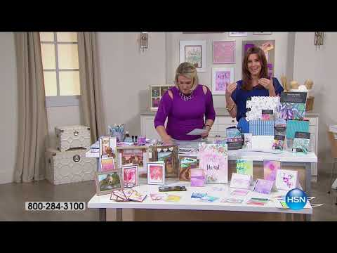HSN | HSN Today: Crafters Companion 08.16.2017 - 08 AM