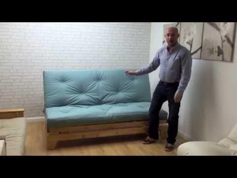 Shropshire Narrowboat Futon Sofabed - funky futon