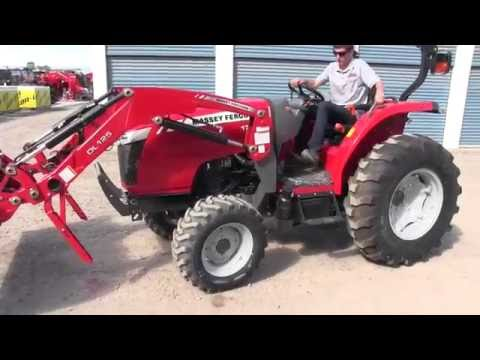 How to Hook up the Loader on a Tractor