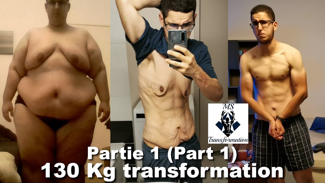 130 KG TRANSFORMATION PHYSIQUE I 286.6 POUNDS WEIGHT LOSS TRANSFORMATION (activate the subtitles)