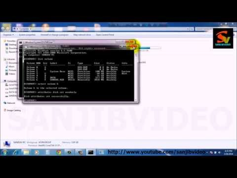 How to Enable / Disable Write Protection From a USB Flash Drive /Memory Chip