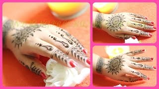 Simple & easy mehandi or hena design for this diwali