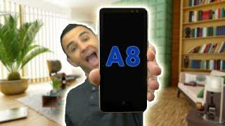 בואו נפתח את הקופסא של הסמסונג גלקסי Samsung Galaxy A8 !