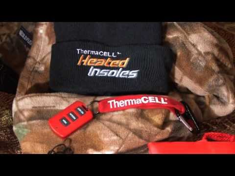 ThermaCELL Heated Insoles on The Zone (15 seconds)