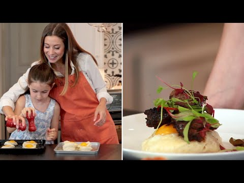 Make Mom this simple steak and eggs in a toaster oven this Mother's Day