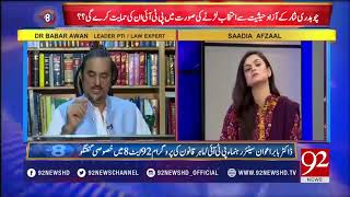 Governors of All Provinces Belong to PMLN, How Free and Fair Elections will held | 20 June 2018