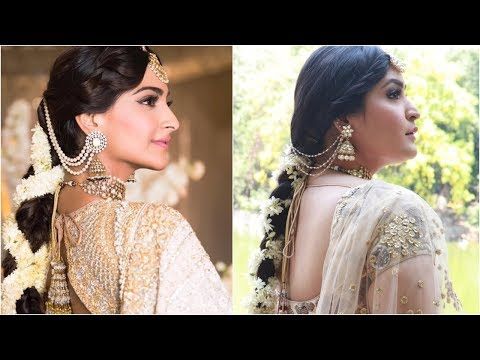 Sonam Kapoor Mehendi/Sangeet Inspired Makeup Tutorial | Shreya Jain