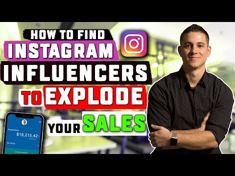 How To Find Instagram Influencers To Explode Your Shopify Sales (BRAND NEW!)