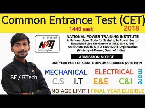 NPTI ADMISSION {CET-2018} – 1 YEAR PGDC : ELIGIBILITY, EXAM SYLLABUS, COURSE FEE, PLACEMENT & more