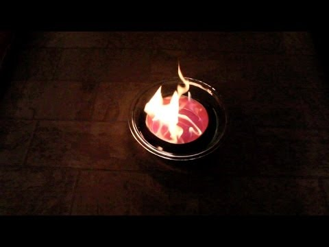 Safe Indoor Fire Pit - Stay Warm!