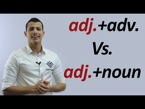 Word Stress: adjective+adverb and adjective+noun