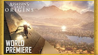 Assassin's Creed Origins: E3 2017 Official World Premiere Gameplay Trailer [4K] | Ubisoft [US]