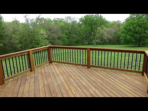 HOW TO WASH & STAIN A DECK  - DIY
