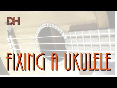 Fixing a Ukulele