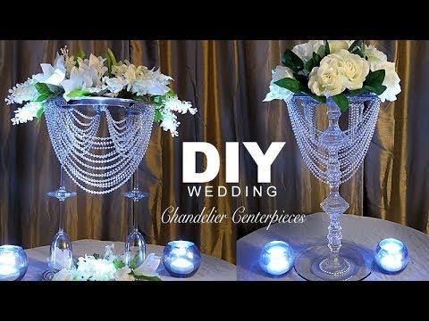 DIY | Wedding Chandelier  Centerpiece
