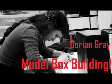 Doppelganger Productions - Dorian Gray: Building the set box with Maria-Helena! Part 1.