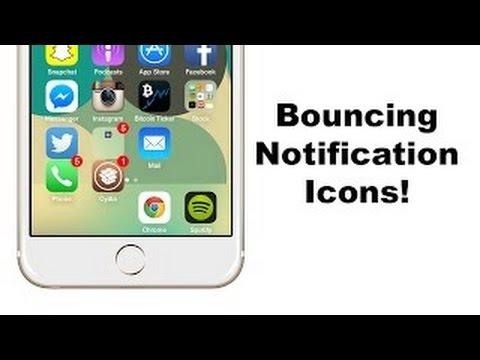 اداة تجعل التطبيقات تقفز عند وصول شعار | Cydia iPhone IOS 8.3/8.4