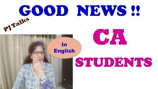 Reduction in CA Syllabus- ICAI Announcement / Notification Awaited - PJTalks