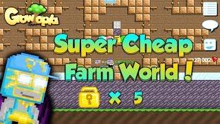Growtopia | Building a Good Farm World !