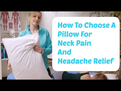 How to Choose a Pillow For Neck Problems and Headaches