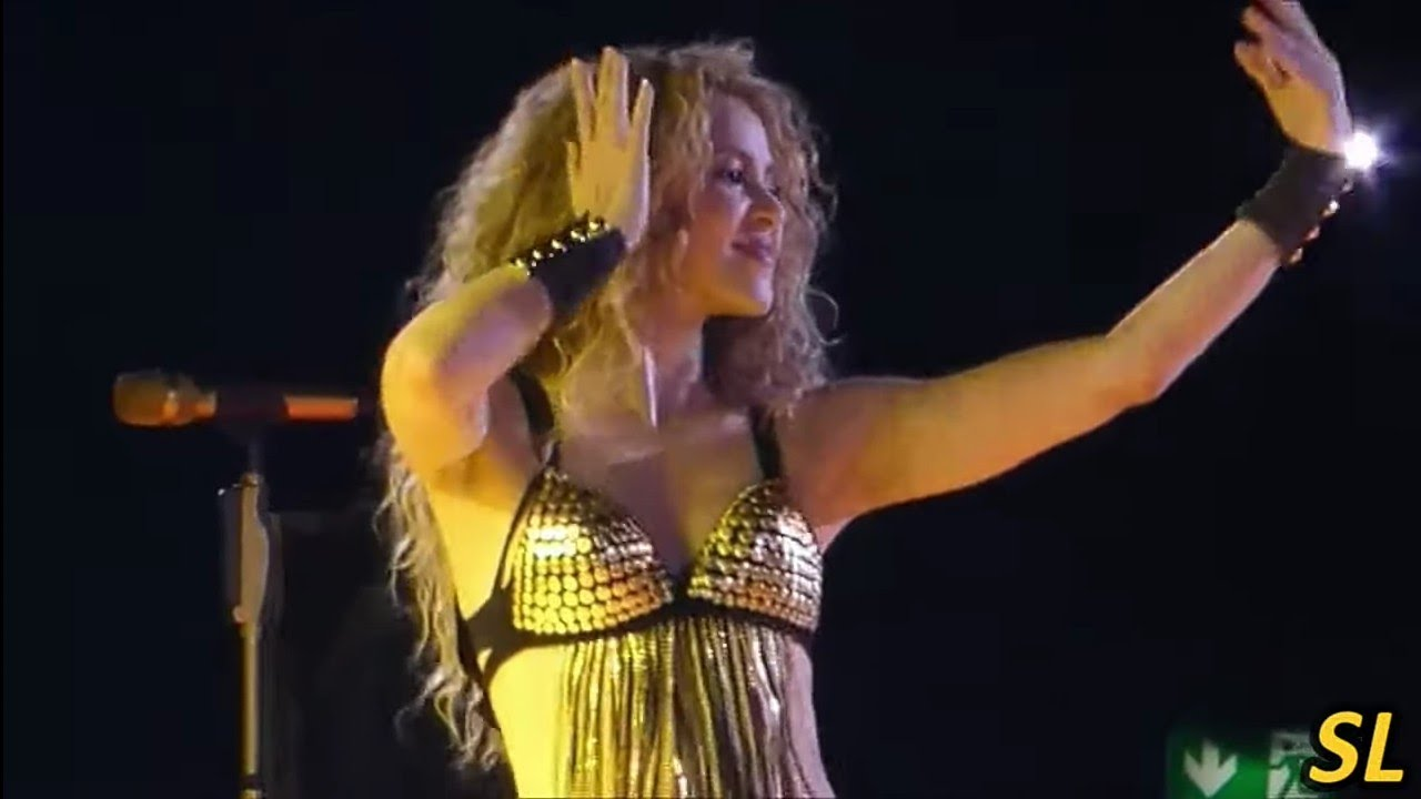 Shakira - Whenever Wherever (Live) (El Dorado World Tour) (Legendado)