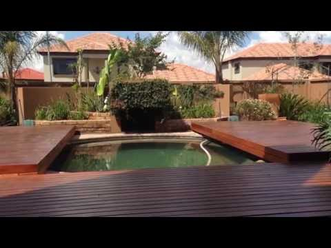 Wood Deck closing over pool