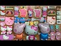 SPECIAL SERIES PEPPA PIG HELLO KITTY SLIME Mixing Too Many Things Into Clear Slime Tom Slime