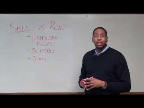 Should I Sell or Rent My House - Are You Ready to be a Landlord? Part 1