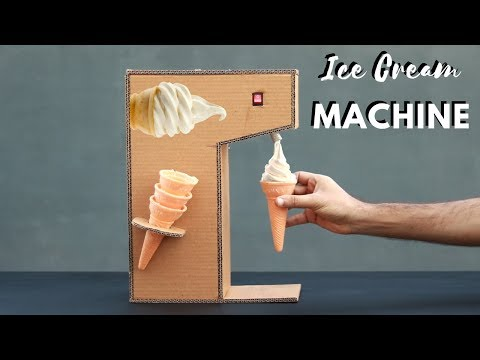 How to Make Ice Cream Machine at Home