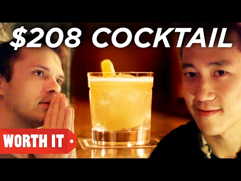 $6 Cocktail Vs. $208 Cocktail