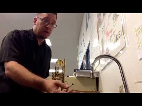 How To Clean Your Trumpet - Part 1