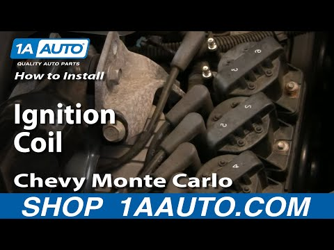 How To Install Replace Ignition Coil GM 3800 3.8L Grand Prix Monte Carlo Impala 1AAuto.com