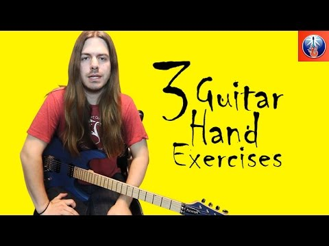 3 Guitar Hand Exercises - Coordination Exercises to Get Your Hands in Sync