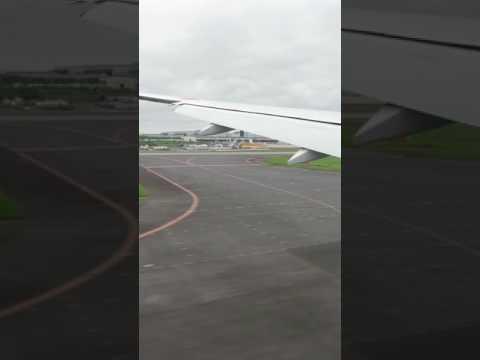 Landing in Narita, Tokyo Japan