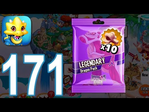 Dragon City - Gameplay Walkthrough Part 171 - Level 51, Legendary Dragon Pack (iOS, Android)