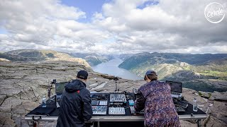Einmusik b2b Jonas Saalbach live at Preikestolen in Norway for Cercle
